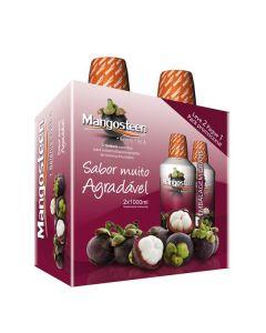 Mangosteen + Selénio + Vitamina A 1000Ml Pack