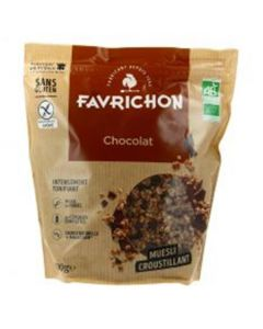 Muesli Bio Chocolate Sem Gluten
