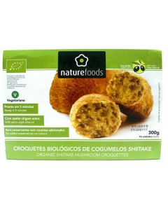 Croquetes Bio De Cogumelos Congelados