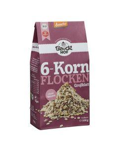 Flocos 6 Cereais Integrais Bio