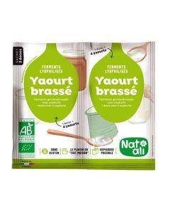Preparação Em Pó Biológica Para Iogurte