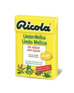 Rebuçados De Ervas Suíças Sabor Limão Melissa Sem