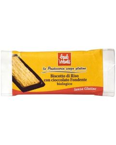 Bolacha De Arroz Com Chocolate Preto Bio Sem Glúte