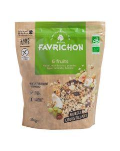 Muesli Cereais Crocantes 6 Frutos Bio Sem Glúten