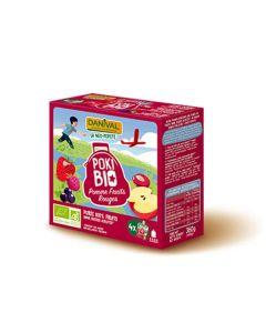 Maçã Frutos Vermelhos Bio Poki