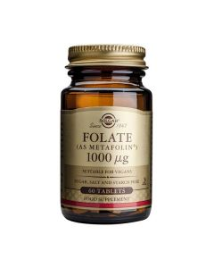 Folato (Metafolin) 1000 Mcg 60 Comprimidos
