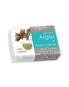 Sabonete De Argila Verde E Algas