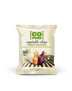 Mistura De Vegetais Fritos Salgados Bio