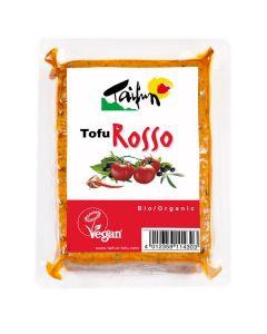 tofu rosso - tofu com azeitonas e tomate bio