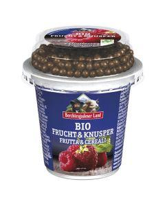 Iogurte Framboesa Bio + Bolinhas De Chocolate Bio