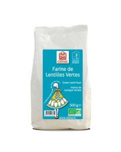 Farinha De Lentilhas Verdes Bio