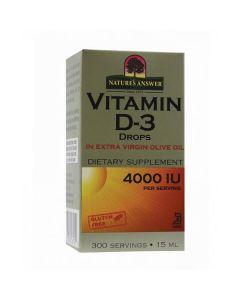 Vitamina D3 Gotas 4000Ui S/Álcool