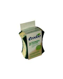 Esponjas Com Esfregão Verde