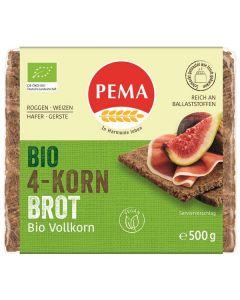 Pão Alemão Integral Com 4 Cereais Bio