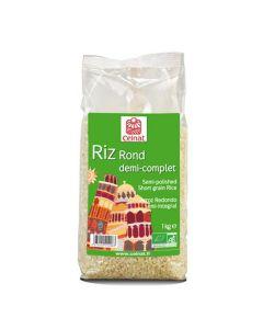 Arroz Redondo Semi-Integral Bio