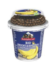 Iogurte Banana Bio + Bolinhas De Chocolate Bio