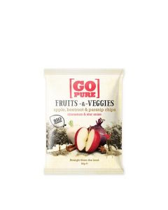 Snack Frutos E Vegetais Bio Com Canela E Anis