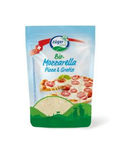 Queijo Mozzarella Ralado Bio