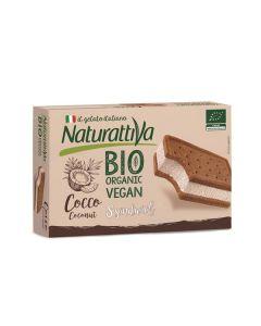 Gelado Sanduíche Coco Biológico