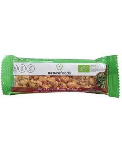 Barra Amendoim Limão Biológica Sem Glúten