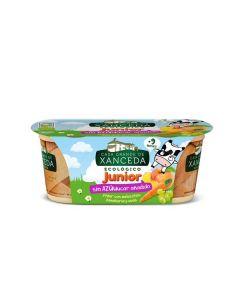 Iogurte Biológico Sem Açúcar Adicionado Pêssego E Cenoura