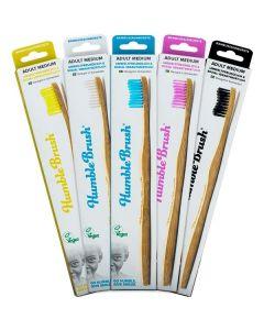 Escova De Dentes De Bambu - Adulto