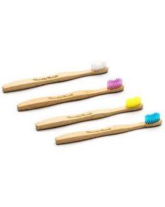 Escova De Dentes De Bambu - Criança