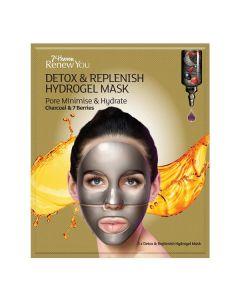 Máscara Facial Hidrogel Detox Carvão E Bagas