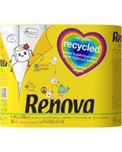 Papel Higiénico Reciclado 4Rl Pp