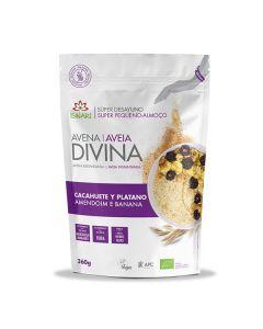 Aveia Divina - Amendoim E Banana Bio