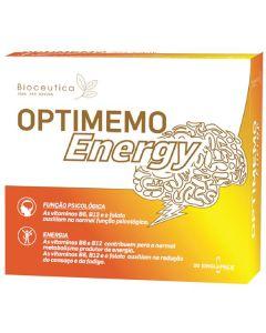 Optimemo Energy 20 Singlepack Ampolas