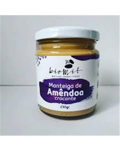 Manteiga De Amêndoa Crocante Bio