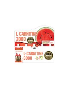L-Carnitine 3000 Mg Watermelon - 20 Unidoses
