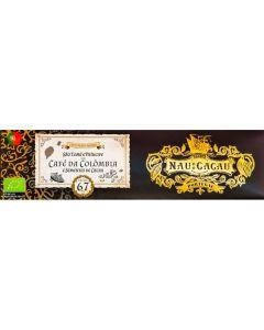 Chocolate De Café Da Colômbia (67% Cacau São Tomé)
