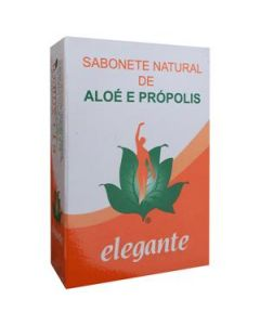 Elegante Sabonete Aloé + Própolis