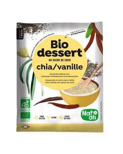 Sobremesa Chia Baunilha Bio Instantânea