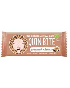 Barra Raw Amendoim Choco Bio Sem Glúten