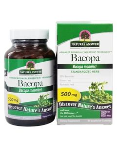Bacopa Monnieri 500Mg 90 Veg Caps