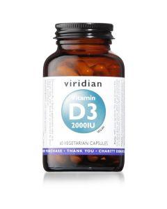 Vitamina D3 2000Ui 60 Vegcaps