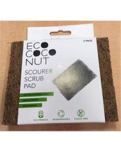 Esfregão Eco Quadrado Fibra De Coco