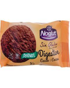 Bolacha Digestiva Cacau Sem Glúten