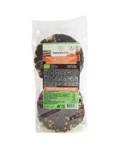 Galetes - Bolachas Arroz Chocolate Preto Caramelo Bio