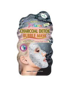 Máscara Facial Toalhete Bolhas Carvão