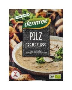 Dennree Sopa Creme Cogumelos Bio 50G