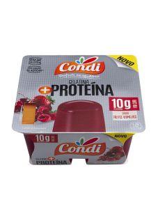 Gelatina Proteica Frutos Vermelhos