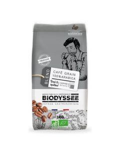 Café Em Grão 100% Arábica Biológico - Torra Média