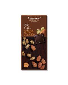 Chocolate Amêndoa E Amora Branca Bio