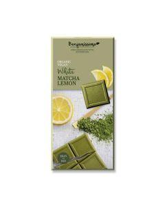 Chocolate Branco Matcha Limão 70G