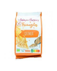 Triângulos Quinoa E Milho Tufados Bio Sem Glúten