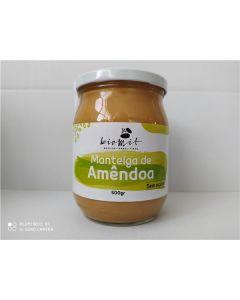 Manteiga De Amêndoa Cremosa Bio